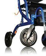 "8"" Rear Wheel Airgo, Solid Black B01-142"