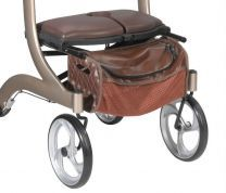 Tote Bag for Brown Nitro DLX Walker Rollator 1026610HSB