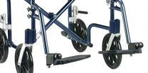 FlyWeight Transport Chair Leg and Footrests, Blue,1 Pair by Drive Medical