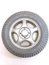 Foam Filled Wheel Assembly for Invacare Power Chairs 1104437