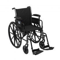 Cruiser III Light Weight Wheelchair Front Rigging Options k318adda-sf