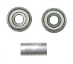 "Nova Bearing & Spacer Set For 24"" Wheel 5060s, 5080s, 5165, 5185, 5160, 5180, 5200 Serial Number Includes:  Yu"