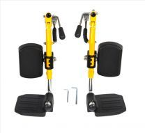 Pair of Medline Kidz Elevating Legrest Assembly WCA806985KIDZ