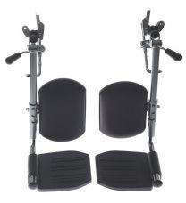 Pair of Medline Pair of Wheelchair Elevating Legrests WCA806985E
