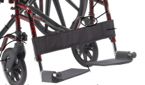Swing Away Footrests, Pair, for Red Rebel Lightweight Wheelchair by Drive