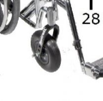 Front Caster Wheel for Heavy Duty Sentra Wheelchair