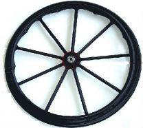 Replacement Wheelchair Hand Rim Drive Medical STDS3J2400, Blue Streak Silver Sport 1