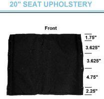 """Seat Upholstery, Cruiser III 20"""""""