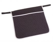 Deluxe Quilted Pouch - Pinpoint W4551
