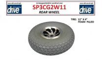 Rear Wheels for Sunfire Power Scooters By Drive Medical