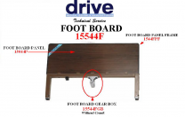 Delta Foot Board Gear Box w/o Crank Replacement 15544FGB