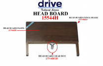 Delta Head Board Panel Frame Replacement Drive Medical 15544HPF