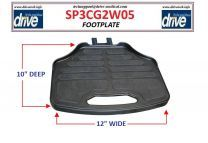 Footrest Assembly for Sunfire Power Scooter By Drive Medical