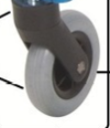 Nimbo 4200 Front Wheel and Fork Right KA WHF-PCR