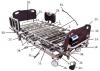 PrimeCare Bed 2002 Bolt For Length Extension Bracket SP01-KBCZ31C50